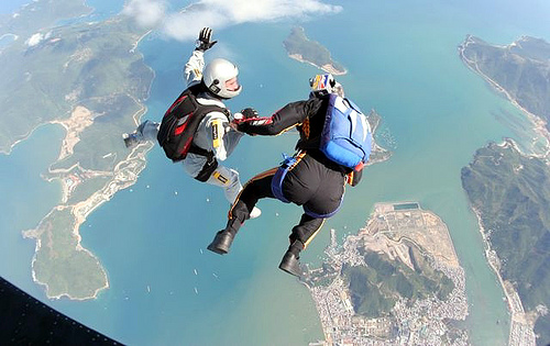 20 Skydiving pictures - 20 Awesome Skydiving Pictures