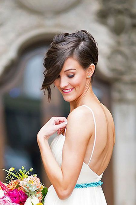 718ff0ad8b00ccac37d4fd21db3197fc - Top Hairstyles for All Bridesmaid to Rock the Look