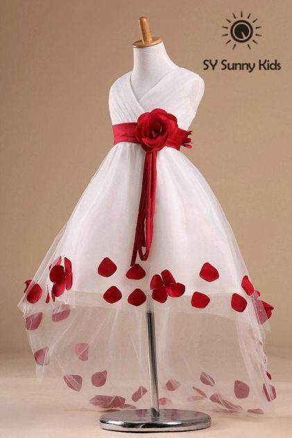 cf274bda3d74ca5d1dc453aadf44f4fd - Red Flower Girl Dresses