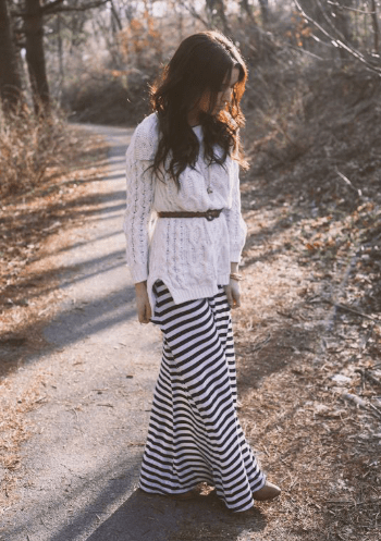 Maxi styling ideas for winters