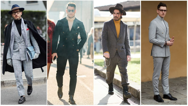 Turtleneck Suits 1 - Men's fashion trends 2018: What's unusual?