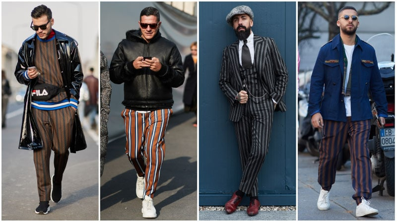 Vertical Stripes - Men's fashion trends 2018: What's unusual?