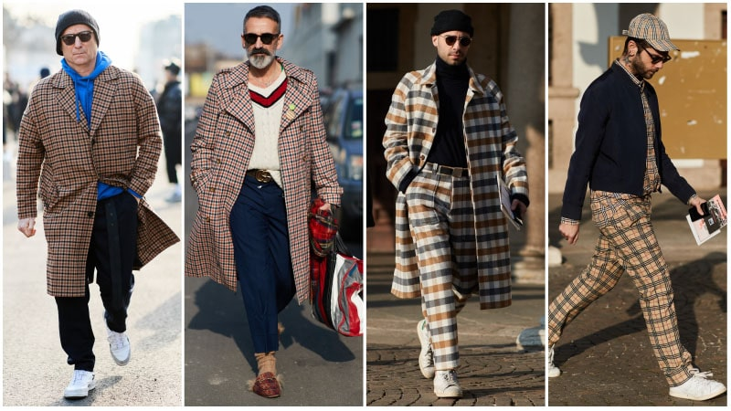 Vintage Checks - Men's fashion trends 2018: What's unusual?