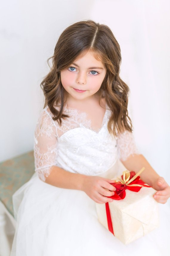 flower girl dress 14 1 - Super Cute Flower girl Dresses Ideas!