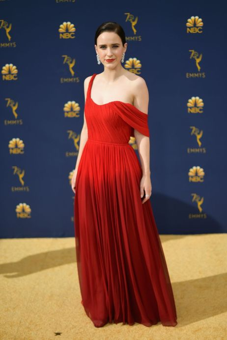 hbz emmys 2018 rachel brosnahan 1537228620 - Emmy's Awards 2018 - The Best Dressed Celebrities