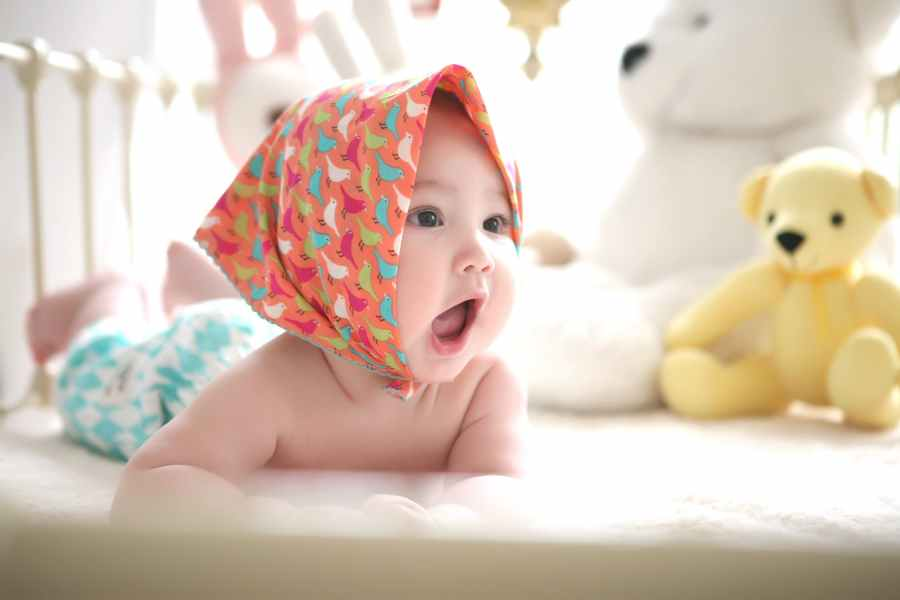 Cute baby photography