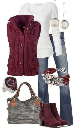 teen outfit 7 - Ten Cute Fall Outfits your closet needs now!