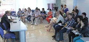 Участники V Форума региональных и национальных СМИ побывали в ИА «Татар-информ»