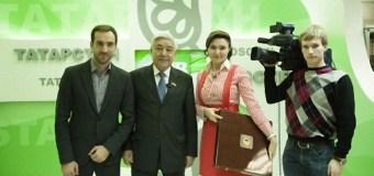 Фарид Мухаметшин посетил обновленную студию «ТНВ» в Москве