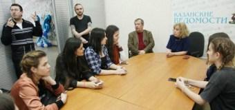 Журналисты «Казанских ведомостей» рассказали о своей профессии будущим коллегам