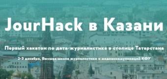 Хакатон по дата-журналистике впервые состоится в Казани