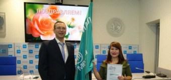 В АО «Татмедиа» состоялось первое награждение переходящим почетным знаменем