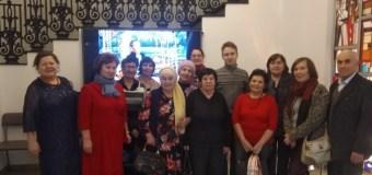 Ветераны журналистики в Национальной художественной галерее «Хазинэ»