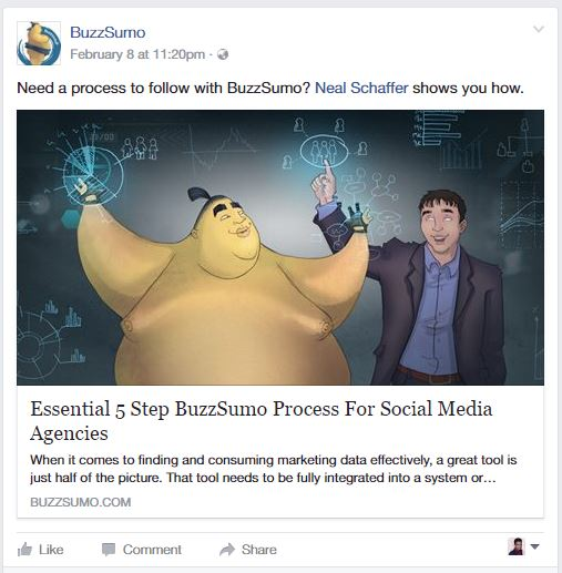 4. BuzzSumo no buffer for FB