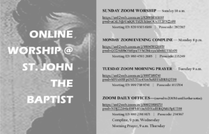 Zoom Sunday Worship Info