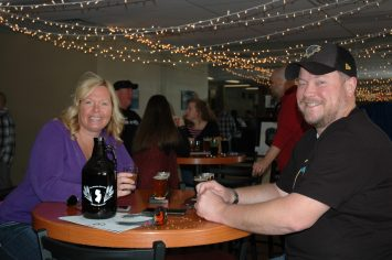 Patrick and Stacy from Swedesboro Enjoying a Flight