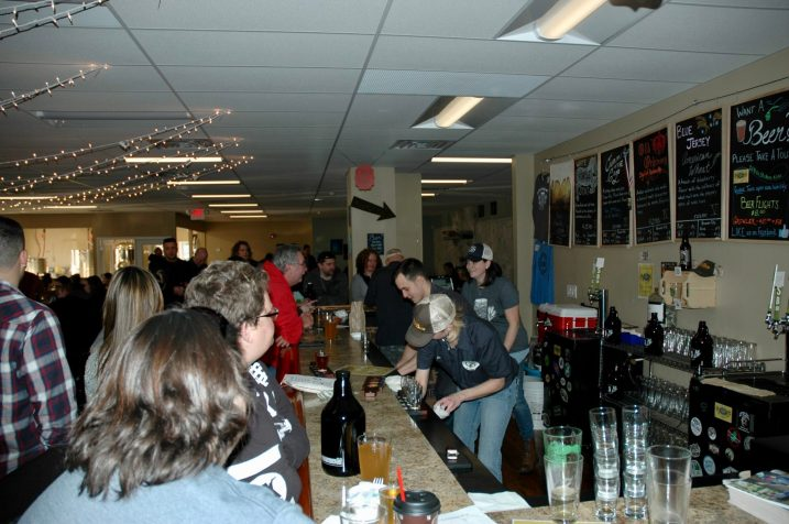 The Gang Slinging Beers