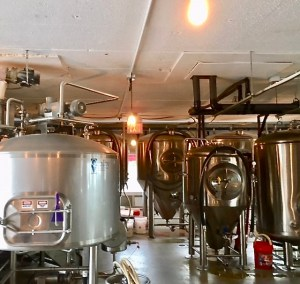 Brewing Equipment at Ship Bottom Brewery, Ocean County