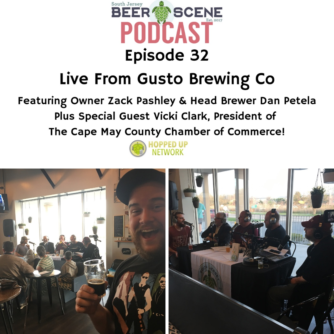 Live from Gusto Brewing Company with Owner Zach Pashley and Head Brewer Dan Petela