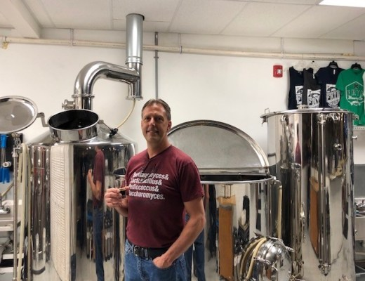 Mike Frye of Frye Brewing Company
