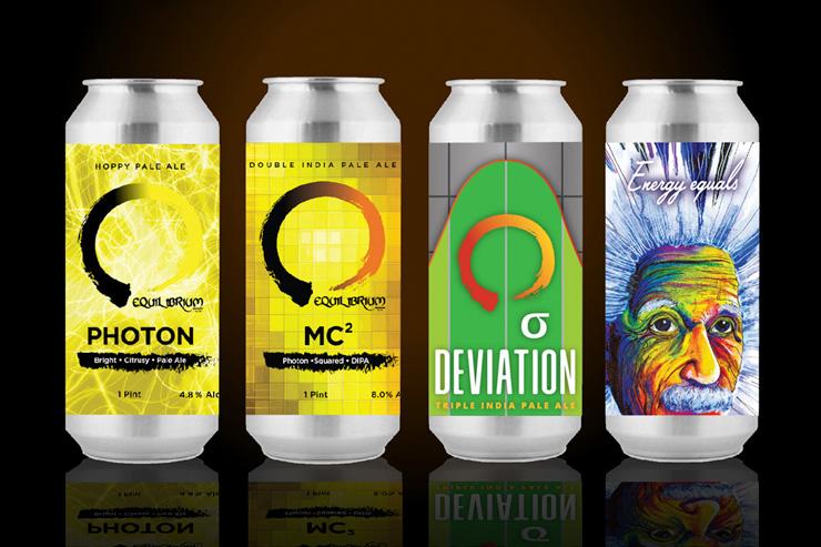Equilibrium Brewery Beer Lineup