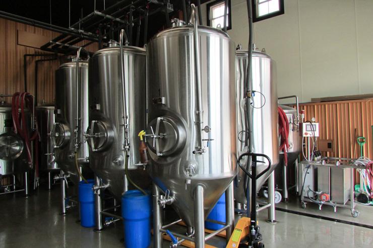 The Barrel System at Hidden River Brewing Company