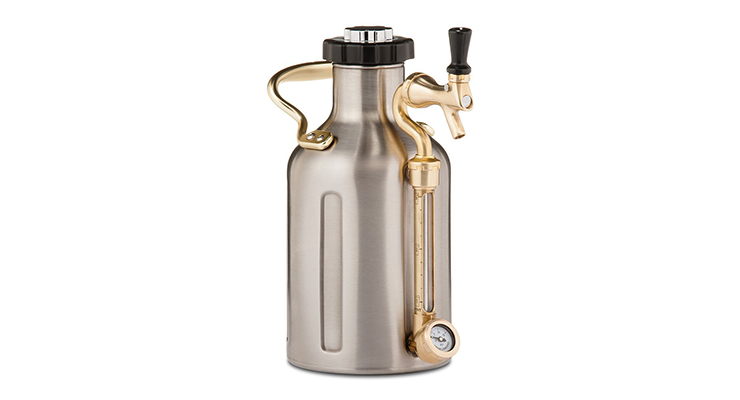 GrowlerWerks Stainless Steel uKeg Growler