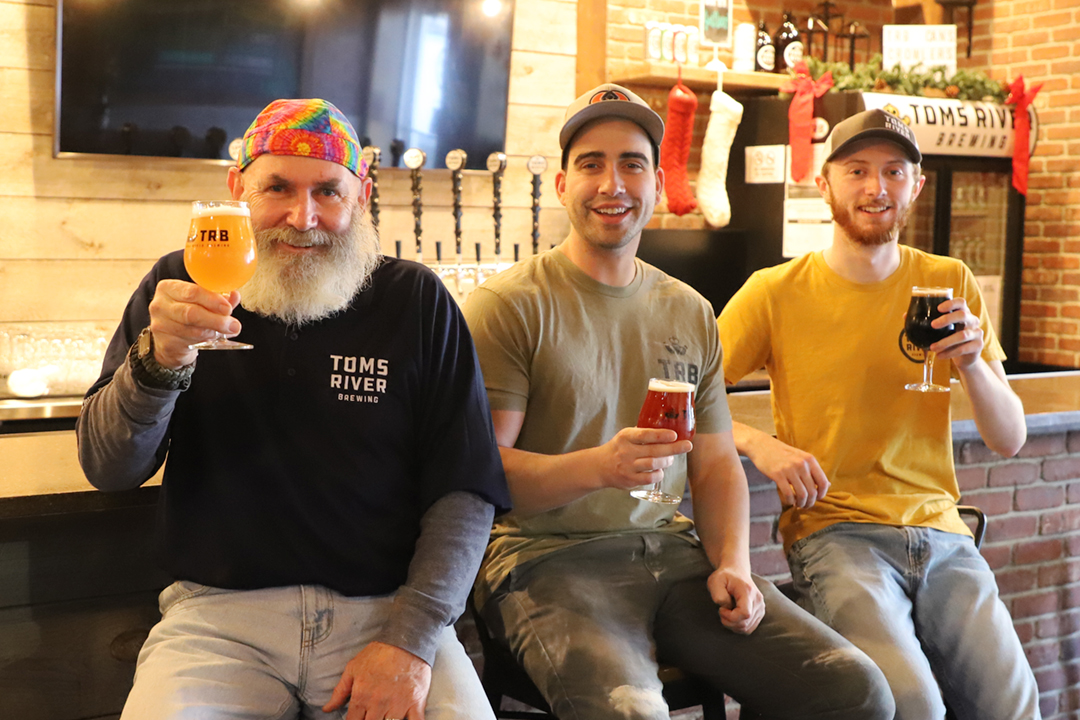 The Cast of Characters from Toms River Brewing