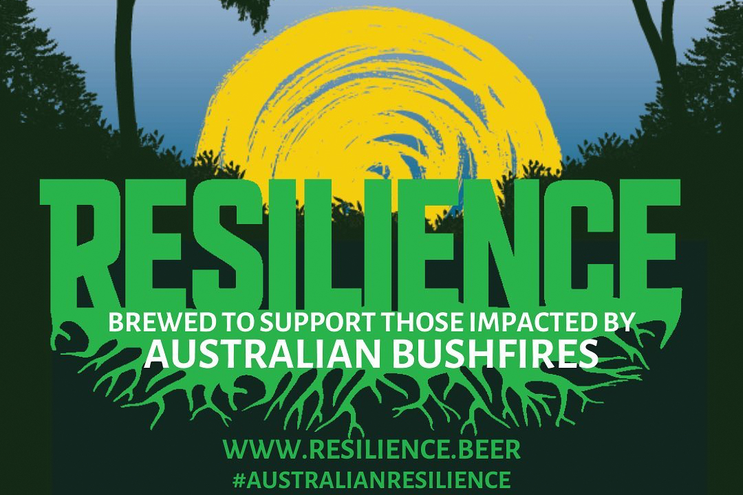 Resilience Beer For Australian Bush Fire Releif
