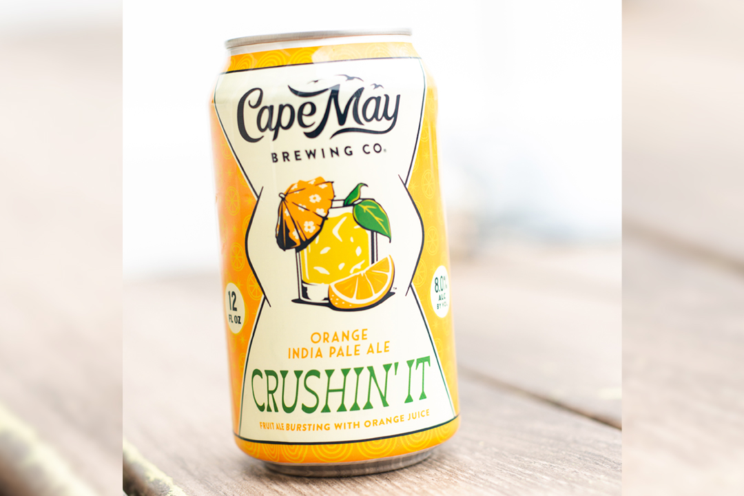 Cape May Brewing Announces 2020 Release of Crushin' It