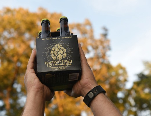 Dogfish Head Craft Brewery's 120 Minute IPA is Back with an Eye-Catching New Bottle Carrier