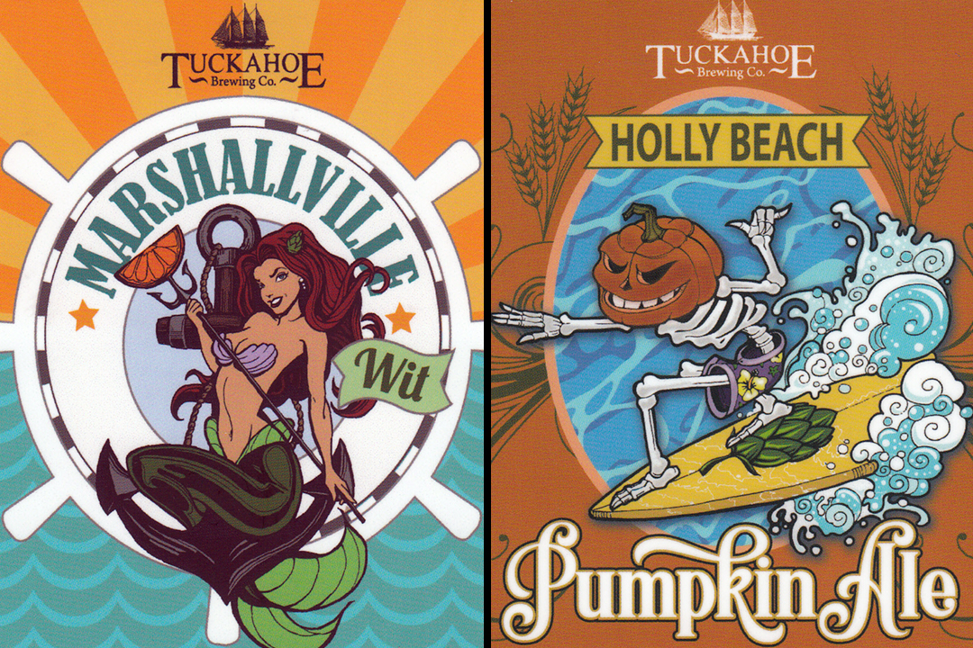 Artist Mike Bell Redefines Beer Label Art at Tuckahoe Brewing Company