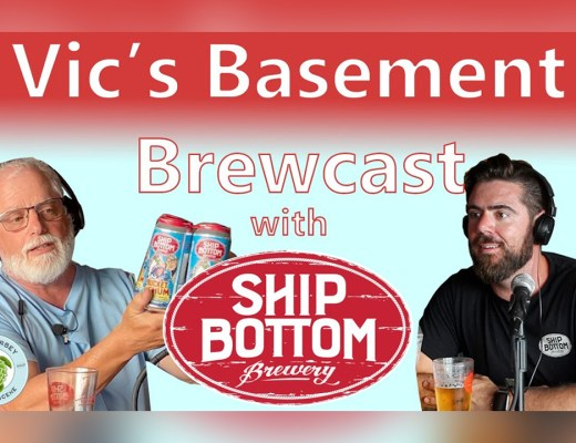 Vic's Basement Brewcast with Ship Bottom Brewery