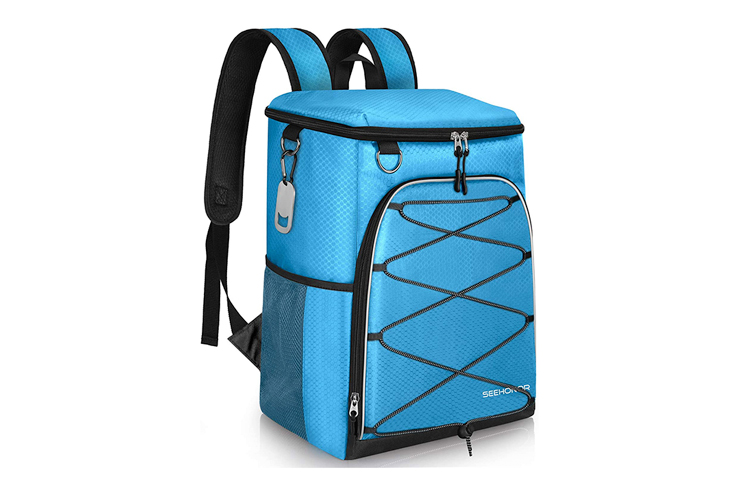 SEEHONOR 25-Can Insulated Backpack Cooler