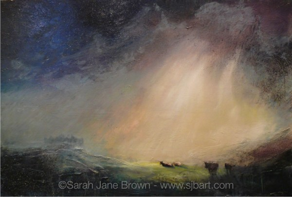 Limited Edition Print! - 'Inspired tenderness of attention' by Sarah Jane Brown.