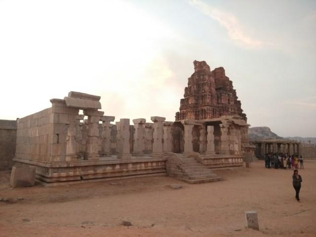 Entrance to Vithala Temple, Hampi