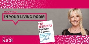 Book Fest in Your Living Room: Erin Brockovich, Aug 30