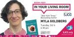 Book Fest in Your Living Room: Myla Goldberg, Oct 6, 2020