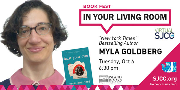 Book Fest in Your Living Room: Myla Goldberg, Oct 6, 2020