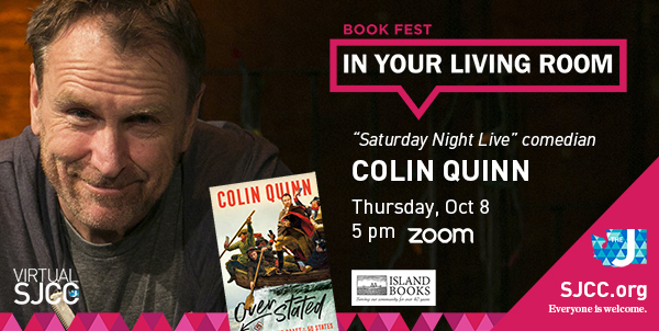 Book Fest in Your Living Room: Colin Quinn, Oct 8, 2020