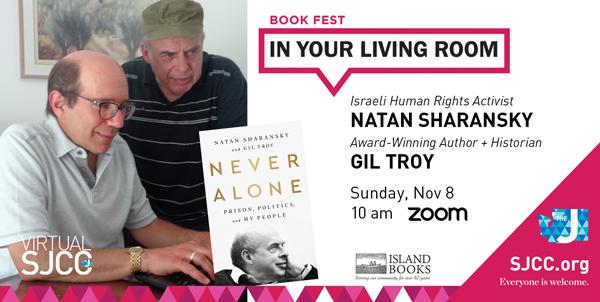 Virtual Book Fest: Natan Sharansky and Gil Troy