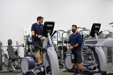 Stroum Jewish Community Center - Fitness Center - Aug. 12, 2020