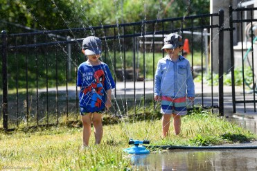 Stroum Jewish Community Center - ECS Classroom 214 (Two's) - Water Play - Aug. 17, 2020