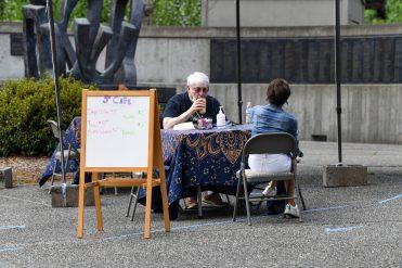 Stroum Jewish Community Center - Senior Sidewalk Cafe - Aug. 18, 2020
