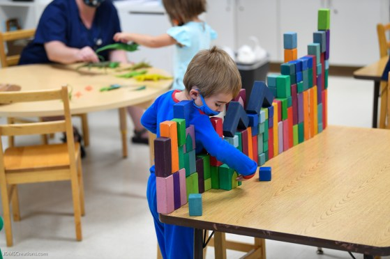 Stroum Jewish Community Center - Early Childhood School - First Day - Sept. 8, 2020