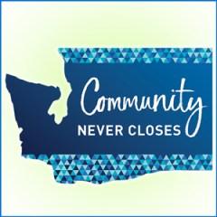 Community Never CLoses