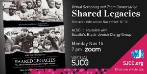 Virtual Screening + Zoom: SHARED LEGACIES