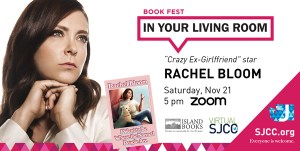 Virtual Book Fest in Your Living Room: Rachel Bloom