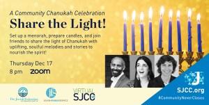 Share the Light: A Community Chanukah Celebration
