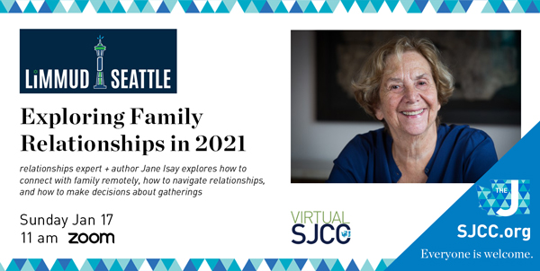 Limmud Seattle: Exploring Family Relationships into 2021